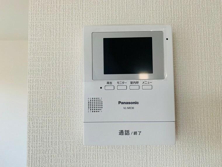 安心の録画機能、TVモニター付インターホンです。