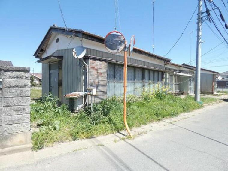現況写真 栃木市薗部町2丁目の売地です。