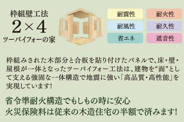 構造・工法・仕様 枠組壁工法2×4