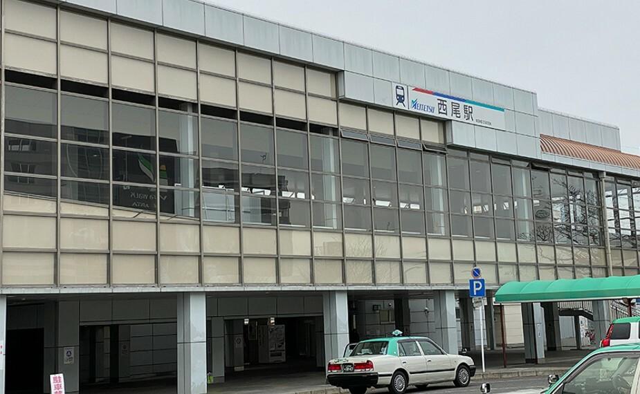 名鉄西尾線「西尾」駅 1番出入口