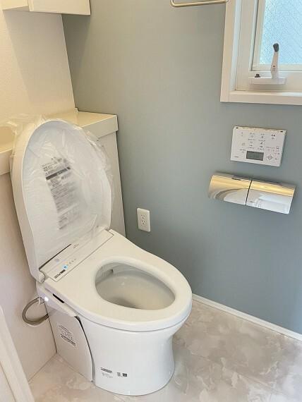 トイレ B区画トイレ(2021年5月撮影)