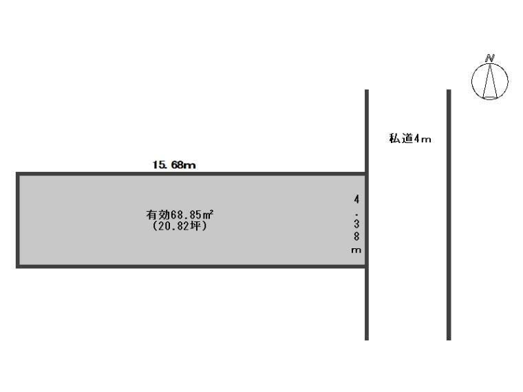 区画図 区画図(A号地)