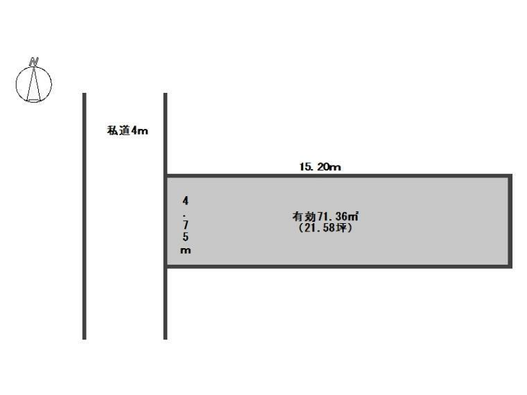 区画図 区画図(B号地)