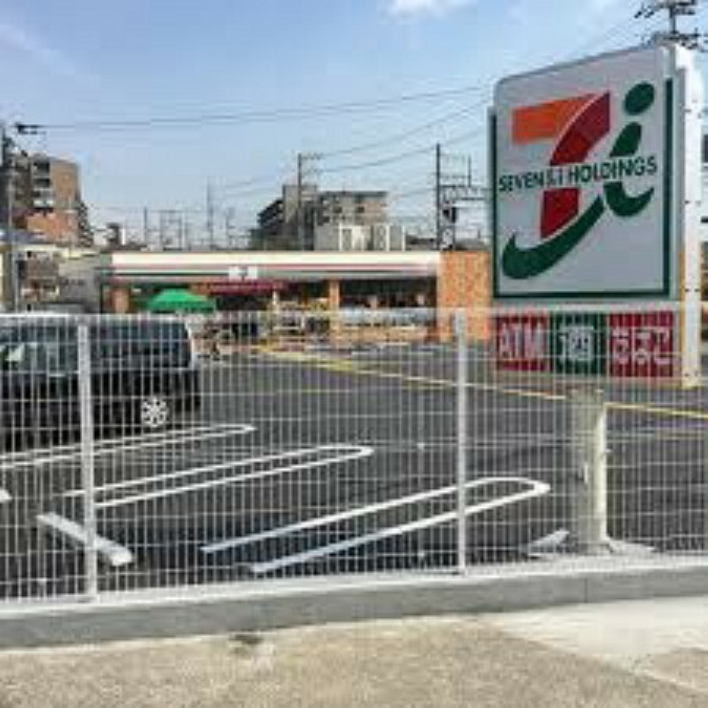 コンビニ 【コンビニエンスストア】セブンイレブン 島本町山崎4丁目店まで384m