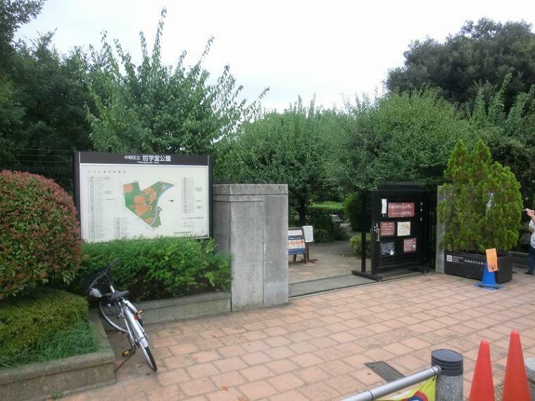 公園 中野区立哲学堂公園