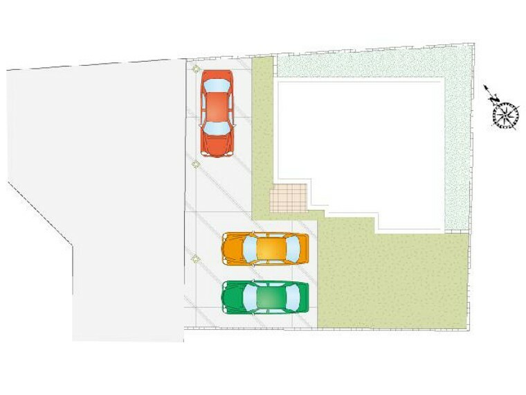 区画図 栃木市沼和田A号地区画図・・・70.13坪ゆとりある土地です。