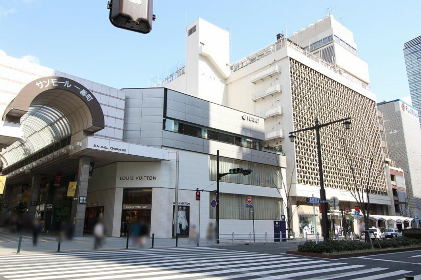 ショッピングセンター 藤崎まで徒歩28分(または車約10分)