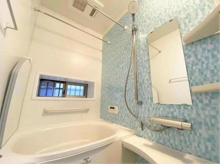 浴室 快適なバスタイムの時間を過ごせる浴室です