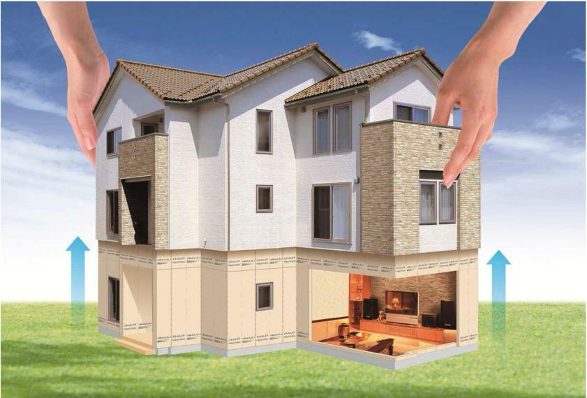 構造・工法・仕様 構造用パネル「あんしん」を外周部に施工し、建物が受ける力を面全体で支えます。構造用パネルは透湿性に優れているものを使用し、壁内部結露を抑え、カビの発生も防ぎます。 パネルはパルプ・ケイ酸質混入セメント板のため、防火性や耐蟻性に優れています。