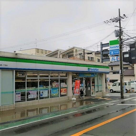 コンビニ 【コンビニエンスストア】ファミリーマート 守口竜田通一丁目店まで157m