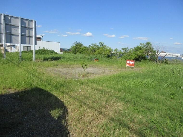 外観・現況 土地面積123.99坪