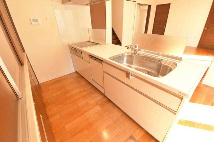 キッチン 洗い物も時短できます!うれしい食洗機付