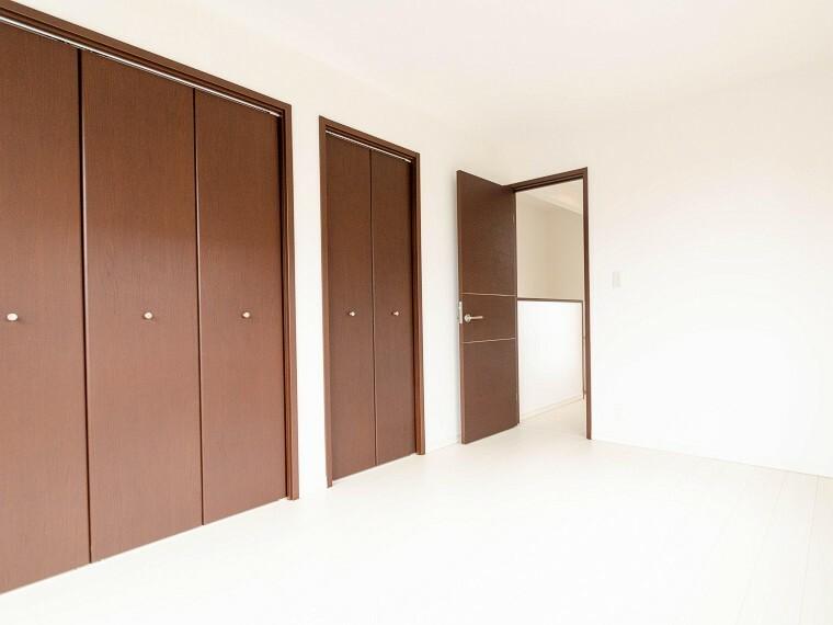 収納 暮らし心地を大きく左右する収納を適材適所に配置し、使い勝手を考慮しました。