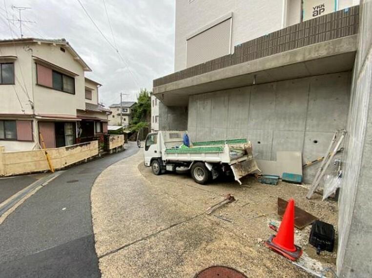 駐車場 駐車2台分のスペースを確保!