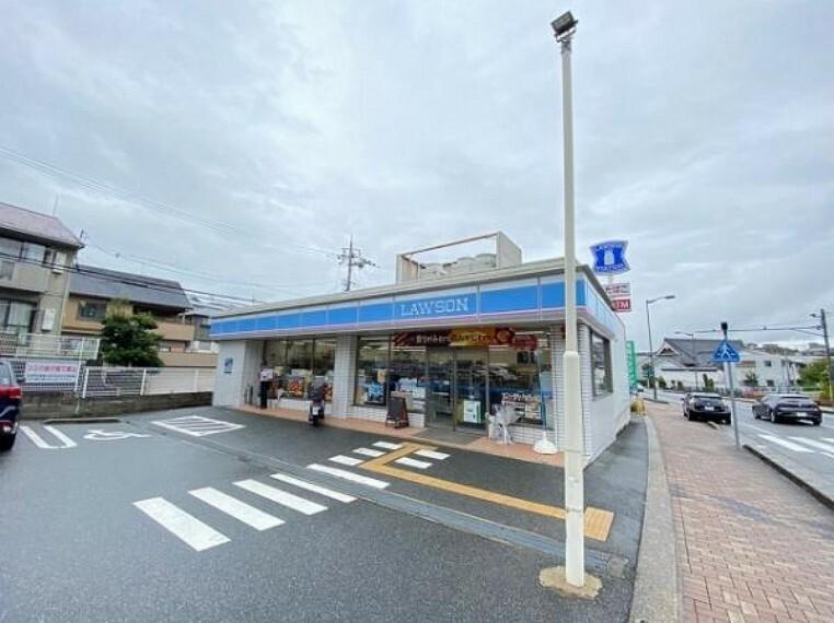 コンビニ ローソン 生駒谷田町店