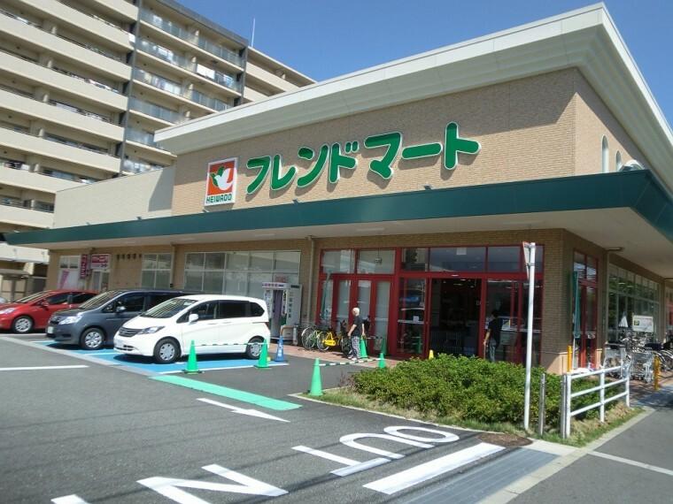 スーパー 【スーパー】フレンドマート尼崎水堂店まで433m