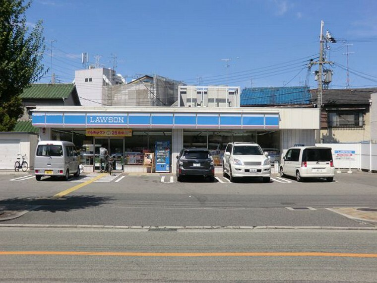 コンビニ 【コンビニエンスストア】ローソン尼崎水堂町店まで348m