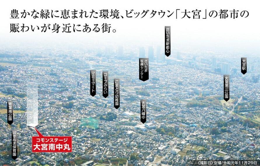 現況写真 空撮(令和元年11月29日撮影)