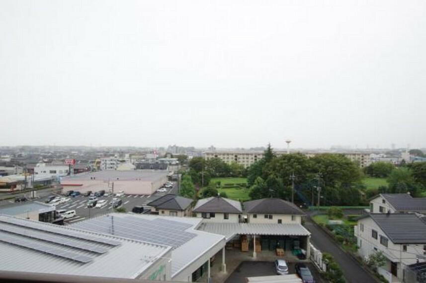 眺望 7階から南側の眺望。いい眺めです