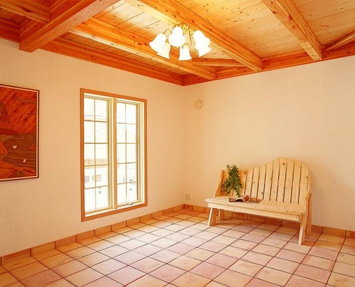 全居室6帖以上のゆとりの間取設計です。