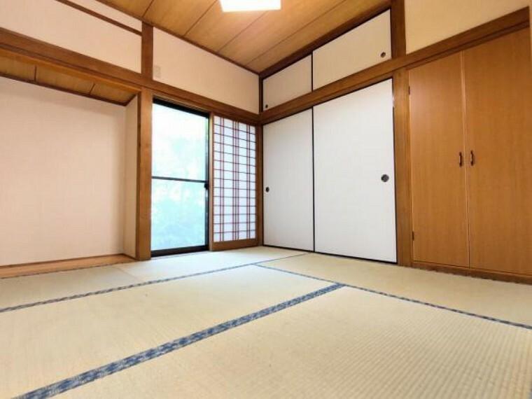 【リフォーム後/和室】壁・天井のクロスは張替え、畳は表替えを行いました。1室和室があると何かと便利ですね。