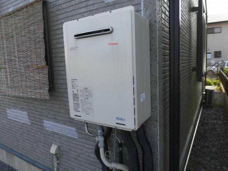 発電・温水設備 (リフォーム中写真)