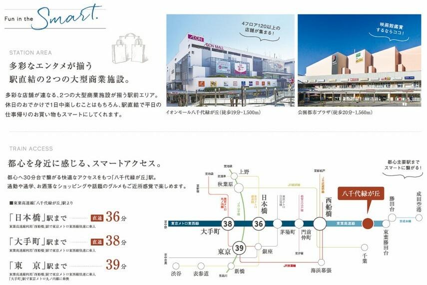交通アクセス   東葉高速鉄道は、「西船橋」駅で東京メトロ東西線に乗り入れ。「大手町」駅や「日本橋」駅へ、 乗り換えなしでダイレクトアクセス。※所要時間は日中平常時のもので、時間帯により異なります。また乗換時間の待ち時間は含みません。