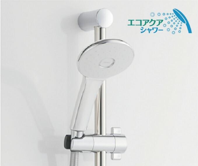 発電・温水設備 エコアクアシャワー   優れたエコ性能と大粒シャワーの心地よさを両立