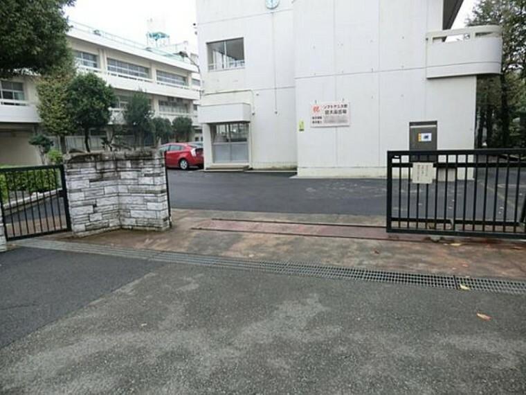 中学校 菅田中学校 1400m