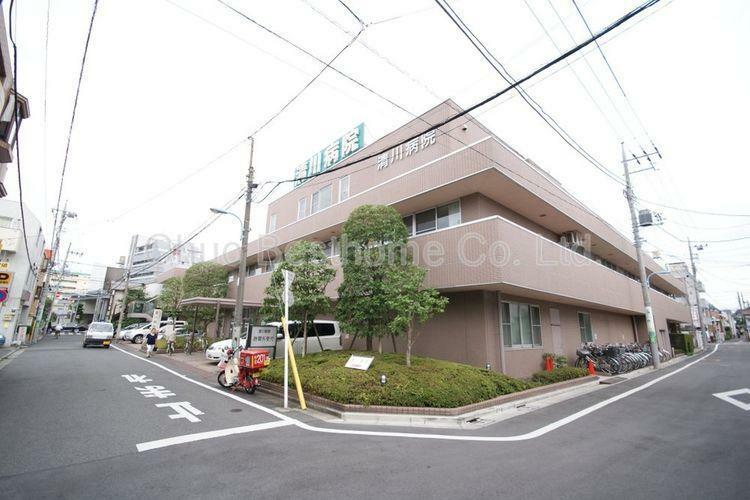 病院 医療法人社団静山会清川病院 徒歩25分。