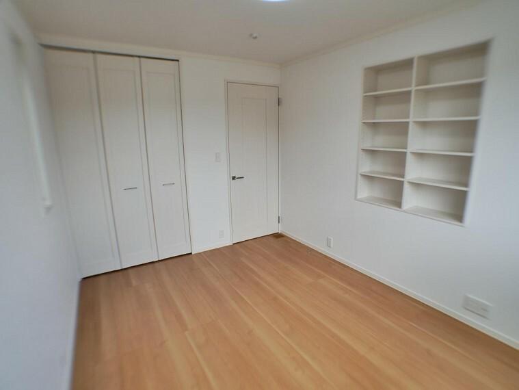 参考プラン完成予想図 【施工事例】造り付けの本棚や収納のご提案も。