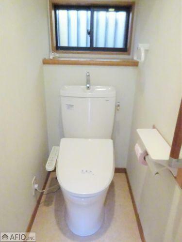 トイレ トイレは安心の2箇所!忙しい朝も安心です!