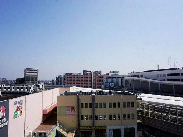 外観・現況 8階から望む、開放的な眺望