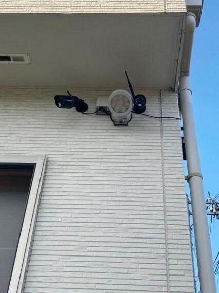 防犯設備 (防犯カメラ)もしもの時のための防犯カメラ付きです!