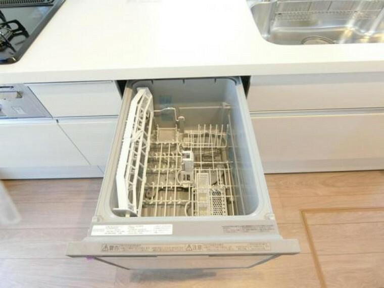 現況写真 あるとうれしい食洗機・浄水器が標準装備!