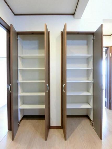 現況写真 収納スペースも豊富で、荷物が多くても安心ですね