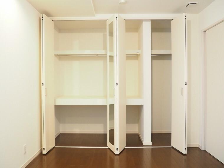 収納 収納  全居室に収納付きでお部屋がスッキリお使いいただけます