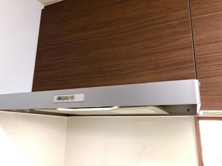 キッチン スリム式換気扇。