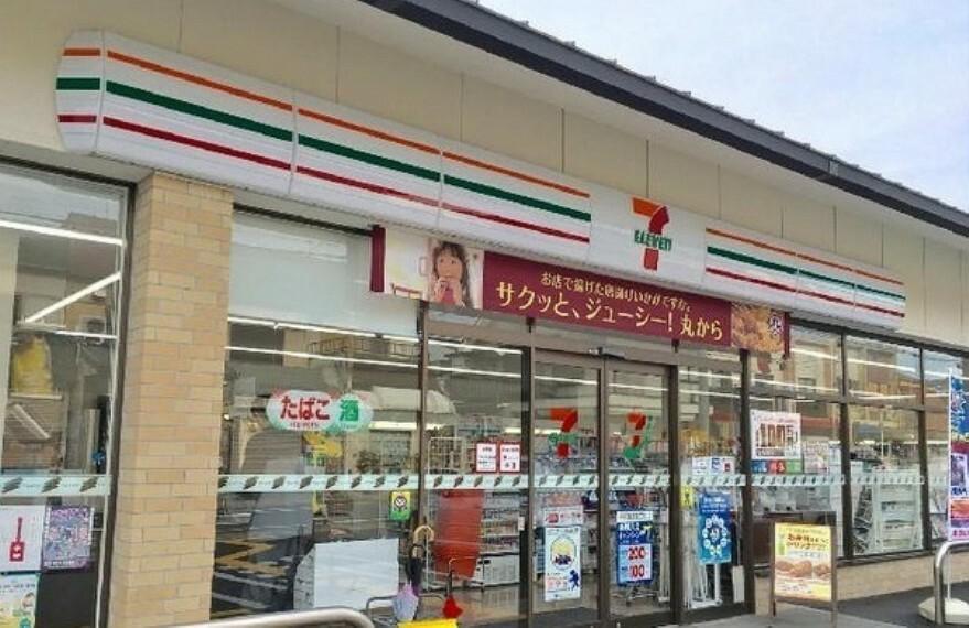 コンビニ セブンイレブン京都山科百々町店