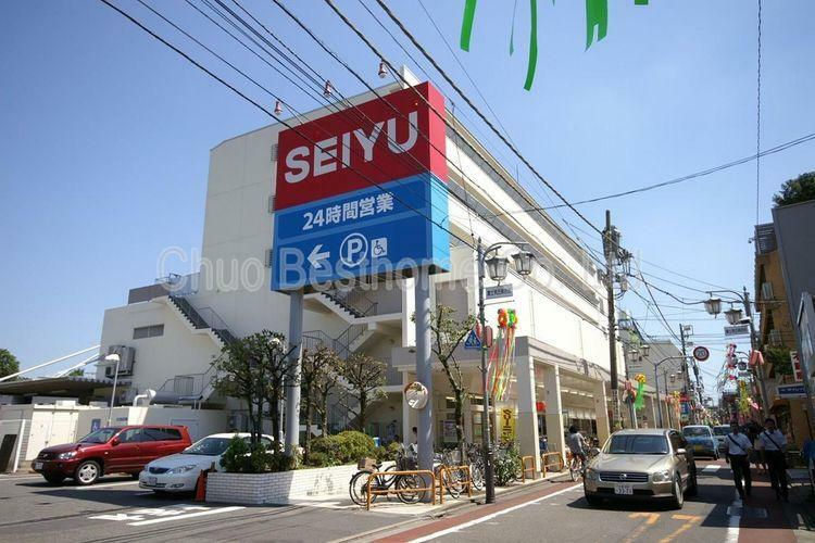 スーパー 西友富士見ヶ丘店 徒歩8分。