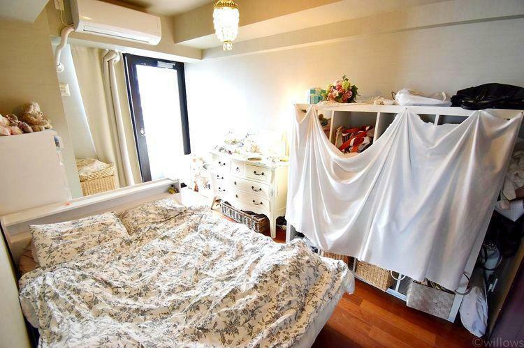 7畳の居室です。バルコニーからの採光で陽当たりも安心です。