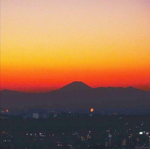 眺望 夕方の眺望も非常に綺麗です。