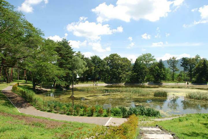 公園 雪窓湖