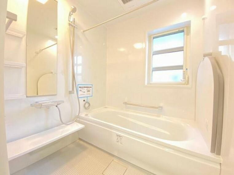 浴室 浴室暖房乾燥機付きなので寒い日も安心