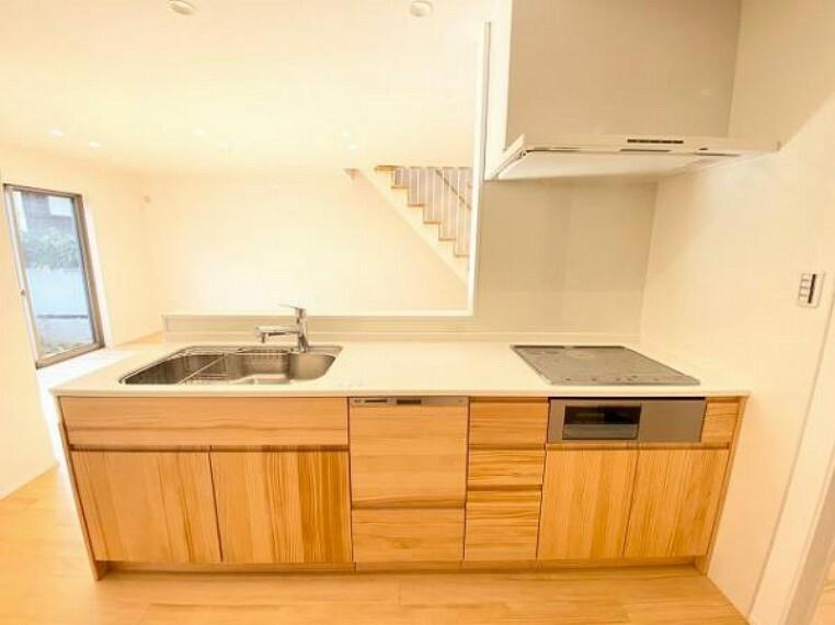 キッチン 嬉しい食洗機付きシステムキッチン