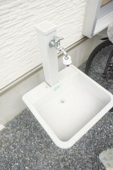 外水栓付いてます。