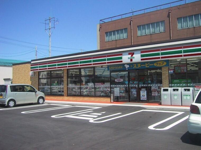 コンビニ 【コンビニエンスストア】セブンイレブン西真岡店まで361m