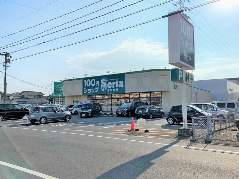 周辺の街並み セリア奥田店