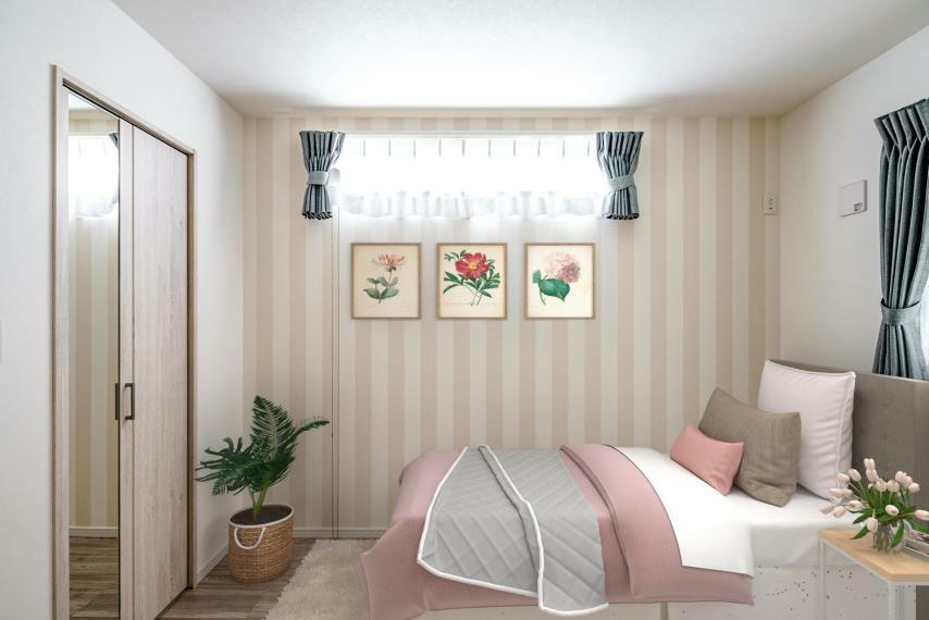 子供部屋 お子様の成長にも役立つ1部屋!可愛らしく飾ってこどもとの交流も育めます!【施工例】
