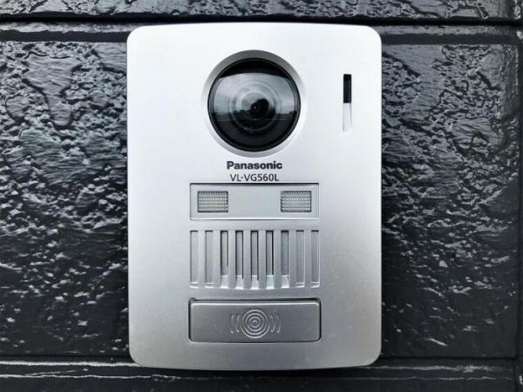 防犯設備 「TVドアホン」女性やお子様のお留守番も安心なカメラ付きインターホンです。